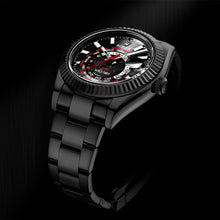 "Load image into Gallery viewer, Rolex DiW 42mm Black DLC ""BLACK RED"" Sky-Dweller 326934 (Retail:EUR 33990)"