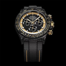 "Load image into Gallery viewer, Rolex DiW NTPT Carbon Daytona ""BLACK & GOLD INVERT"" (Retail:EUR 45990)"