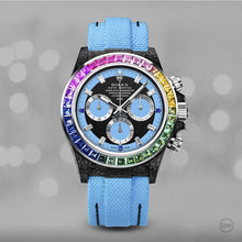 "Load image into Gallery viewer, Rolex DiW NTPT Carbon Daytona ""RAINBOW BLUE"" (Retail:US$81,000)"