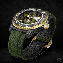"Load image into Gallery viewer, Rolex DiW NTPT Carbon GMT-Master II ""MILITARY GMT"" (Retail: US$44,500)"