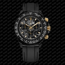 "Load image into Gallery viewer, Rolex DiW NTPT Carbon Daytona ""BLACK & GOLD"" (Retail:US$55,000)"