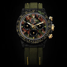 "Load image into Gallery viewer, Rolex DiW NTPT Carbon Daytona ""MILITARY GREEN UNIQUE 1"" (Retail:US$62,990)"