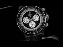 "Load and play video in Gallery viewer, Rolex DiW NTPT Carbon Daytona ""PAUL NEWMAN BLACK SC"" (Retail:US$49,500)"