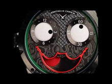 "Load and play video in Gallery viewer, DiW ""JOKER"" Black DLC NTPT Carbon Dial By Konstantin Chaykin (Retail:US$19,500)"