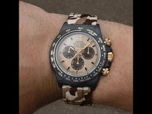 "Load and play video in Gallery viewer, Rolex DiW NTPT Carbon Daytona ""DESERT EAGLE"" (Retail:US$56,800)"