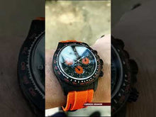 "Load and play video in Gallery viewer, Rolex DiW NTPT Carbon Daytona ""ALL CARBON ORANGE EDITION"" (Retail:US$55,000)"