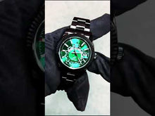 Load and play video in Gallery viewer, Rolex DiW Black DLC Green Sky-Dweller 42mm 326934 (Retail:US$37,990)