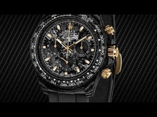 "Load and play video in Gallery viewer, Rolex DiW NTPT Carbon Daytona ""BLACK & GOLD"" (Retail:US$55,000)"