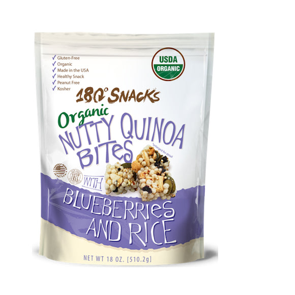 Organic Nutty Quinoa Rice Bites with Blueberries and Rice (18 oz.)