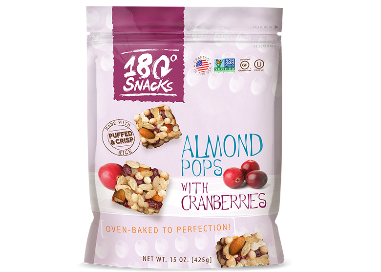 Almond Pop with Cranberries (15 oz.)
