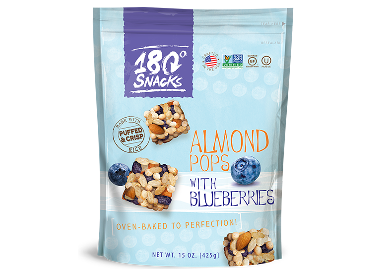 Almond Rice Pops Blueberry (15 oz.)
