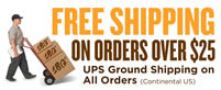 Free shipping now on all continental US orders!