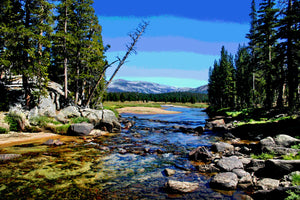 TUOLUMNE MEADOWS IN YOSEMITE NATIONAL PARK 01 - LANDSCAPES