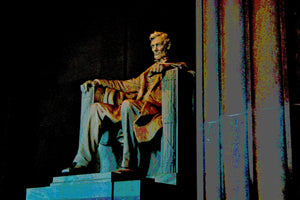 THE LINCOLN MEMORIAL - AROUND DC
