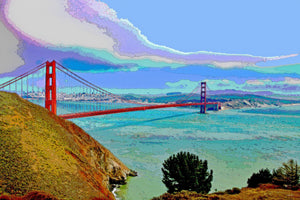 SAN FRANCISCO'S GOLDEN GATE BRIDGE 01- CITYSCAPES