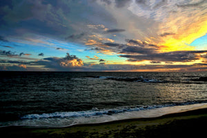 SUNSET AT LAGUNA BEACH 01 - SEASCAPES