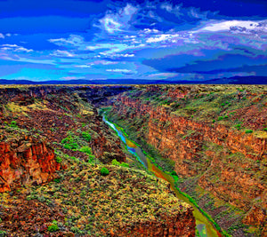 THE RIO GRANDE RIVER GORGE 01 - LANDSCAPES