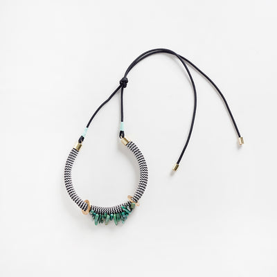 Egun Moss necklace