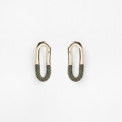 Pichulik | Cantadora Earrings Olive