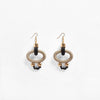 Pichulik | Gamma Earrings Beige Black