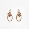 Pichulik | Shimenawa Earrings Beige
