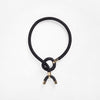 Pichulik | Astarte Horn Necklace Black