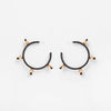 Pichulik Ouroboros Earrings Black