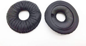 60425-01 Leatherette Ear Pads by AvimaBasics | Premium Earpads Cushion Compatible with Plantronics Supra Plus 19025-01 H91N H101N HW111N HW121N Blackwire C610 C610-M C620 C620-M Headsets