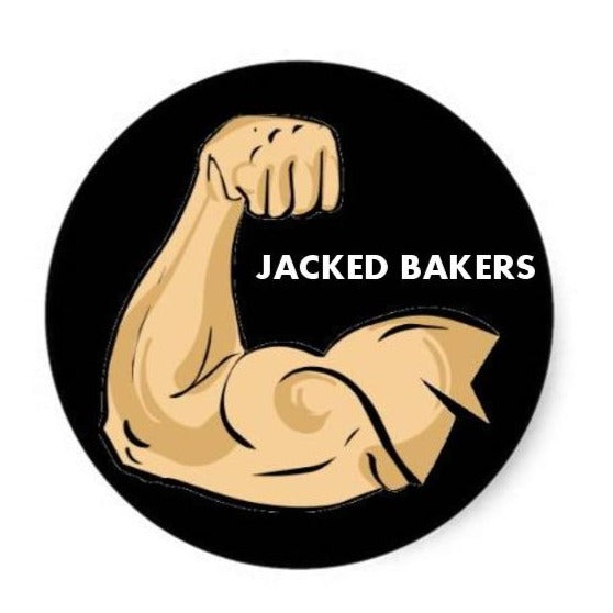 Jacked Bakers: Fat-Free Protein Cookies (1 dozen)