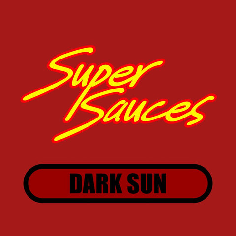 Super Sauces: Dark Sun (Kansas City Tomato-Based BBQ Sauce) (16 oz)