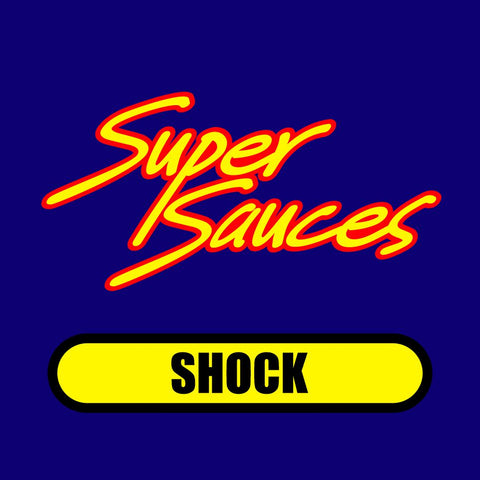 Super Sauces: Shock - Mustard Based BBQ Sauce (16oz)