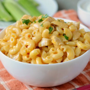 Ready To Eat: Buffalo Chicken Mac N' Cheese