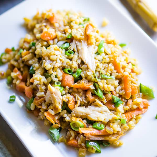 Ready To Eat: Teriyaki Chicken Fried Rice