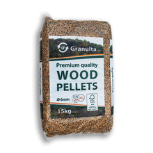 Load image into Gallery viewer, Granulta ENPlus A1 Wood Pellets 975kg BSL0541233 0001