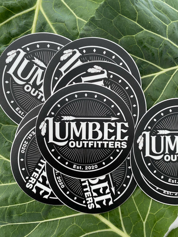 Lumbee Outfitters Burst Sticker