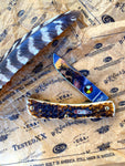Case Amber Bone Sod Buster Junior Lumbee Pocketknife