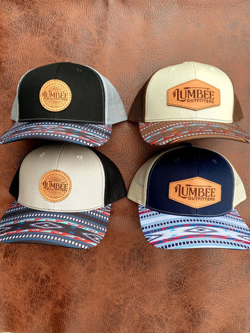 Lumbee Outfitters Native Visor Patch Hat