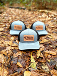Lumbee Outfitters Gray Patch Hat