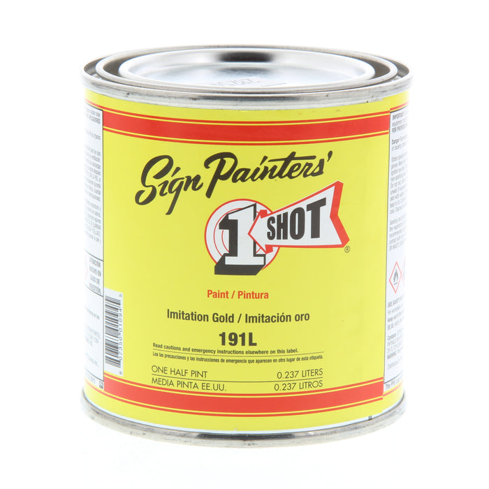 1 SHOT LETTERING ENAMEL IMITATION GOLD 8oz