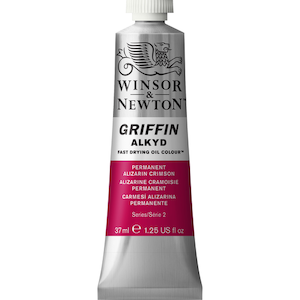 GRIFFIN 37ml TUBE PERMANENT ALIZARIN CRIMSON