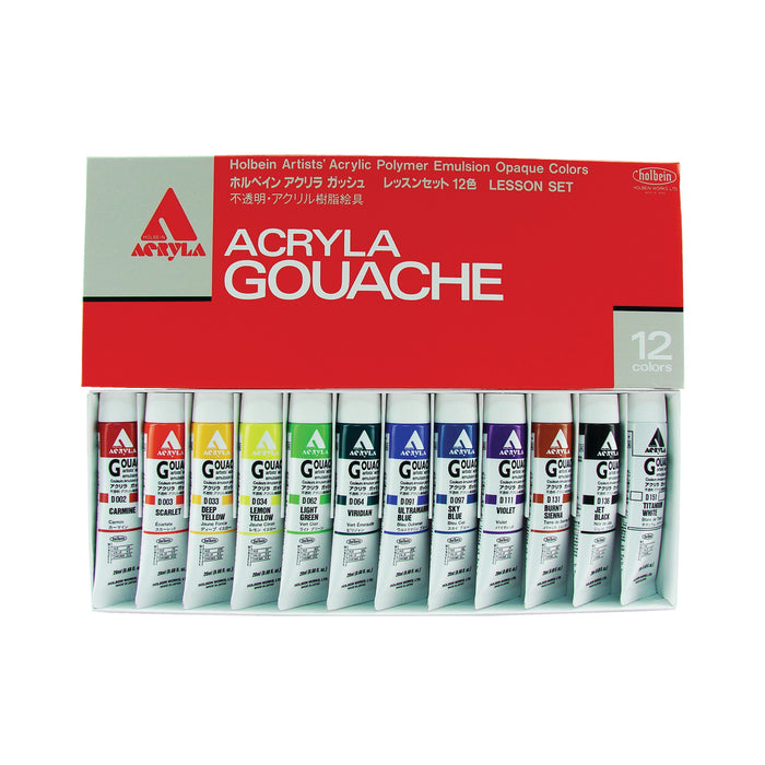 ACRYLA LESSON 20ml TUBE SET/12