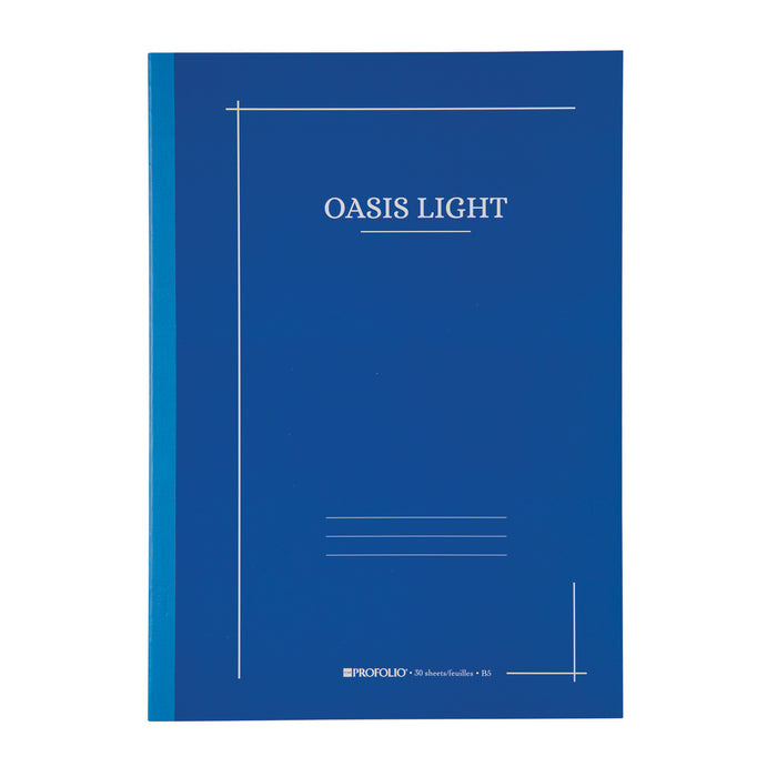 OASIS LIGHT NOTEBOOK B5 BLUEBERRY