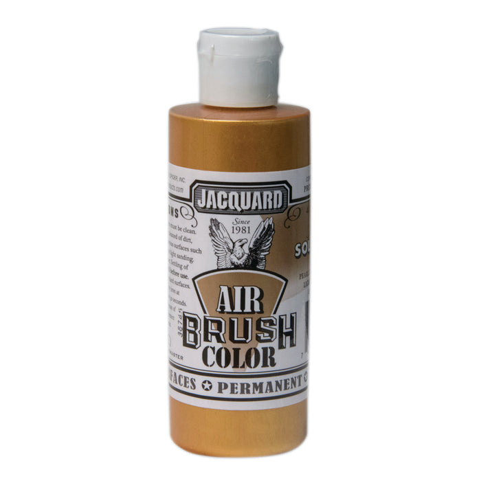 JAQ AIRBRUSH 4OZ METALLIC SOLAR GOLD