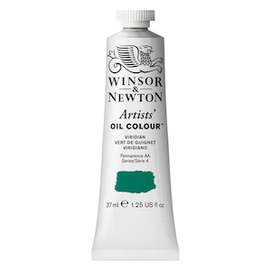 ARTISTS' OIL COLOR 37ml TUBE VIRIDIAN
