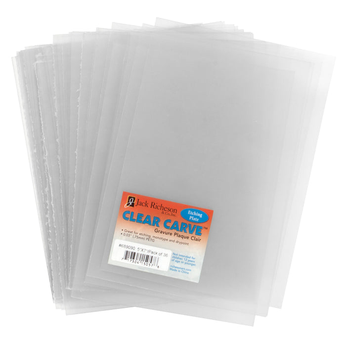 CLEAR CARVE ETCHING PLATE 3-PACK 12X16