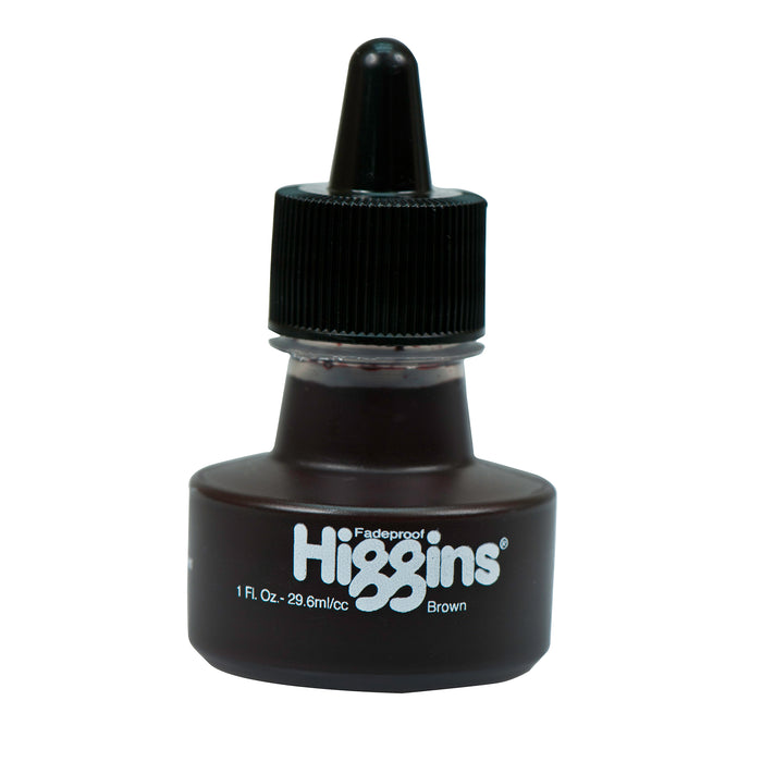 HIGGINS PIGMENTED BROWN 1oz