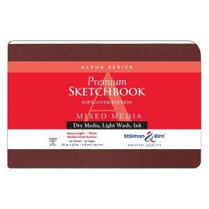ALPHA SKETCHBOOK SOFTCOVER 5.5X3.5