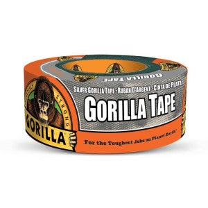 GORILLA HEAVY DUTY SILVER TAPE 12YD