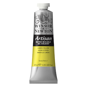 ARTISAN 37ml TUBE LEMON YELLOW