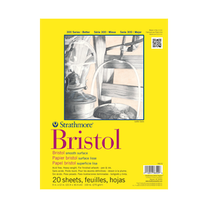 BRISTOL PAD SMOOTH 11''x14''